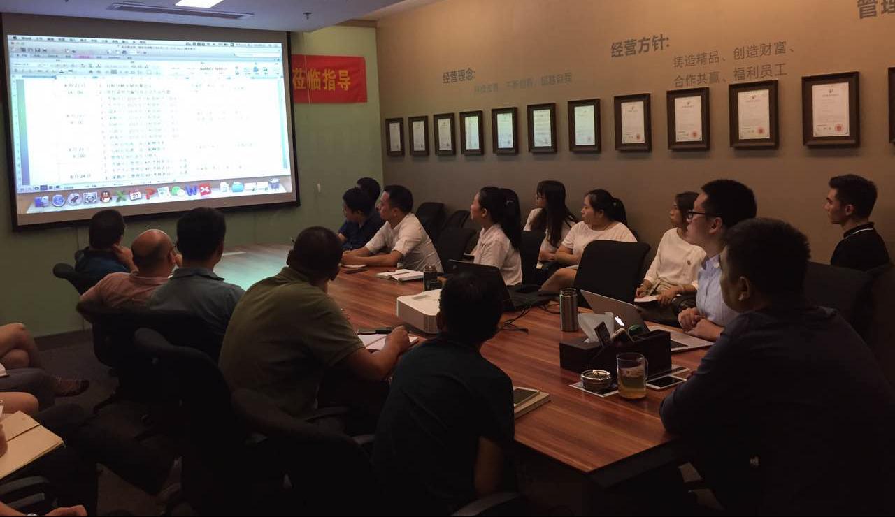 原点建设工程邀请<a href='http://www.pinyuzixun.cn/' target='_blank'><u>品誉咨询</u></a>姚老师为企业做绩效落地咨询1